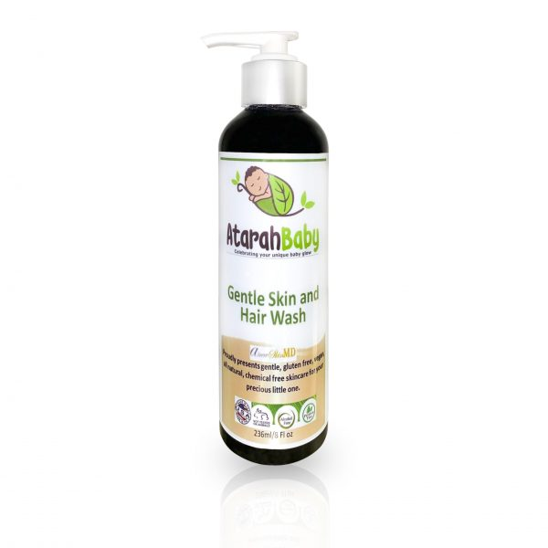 Gentle Skin and Hair Wash To Soften & Soothe Baby's Skin